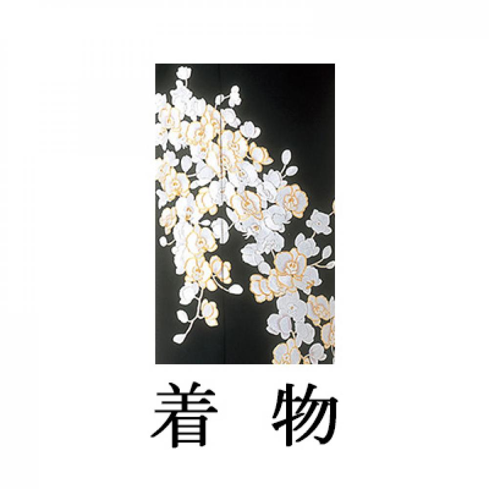 留袖【002-214 総繍白胡蝶蘭】