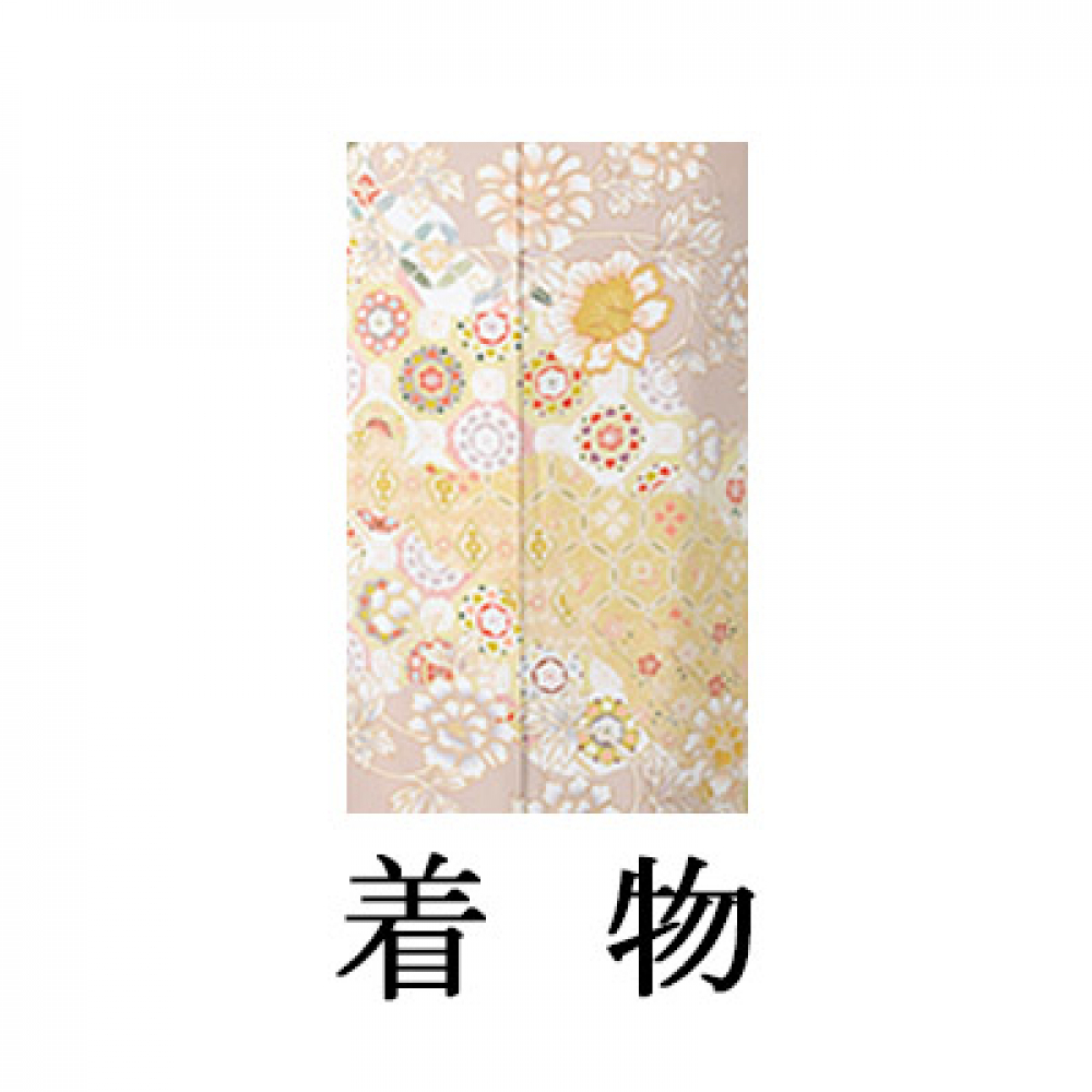 WEB色留袖【9024 牡丹唐草】