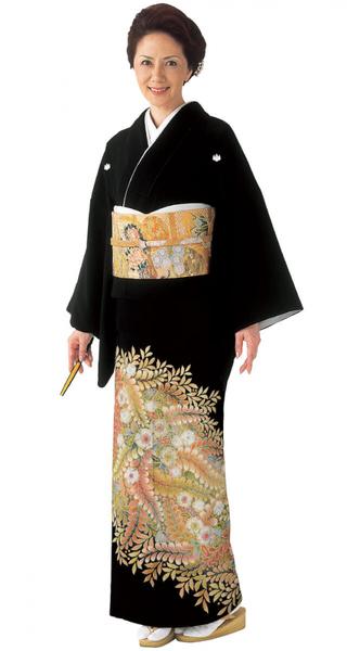 【全国往復送料無料】 留袖フルセットレンタル 普通巾【6255 辻ヶ花(総絞り)】