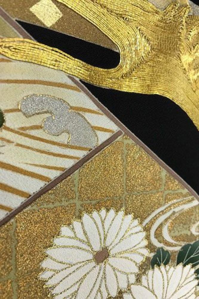 【全国往復送料無料】 留袖フルセットレンタル 普通巾【002-003 琳派吉祥】