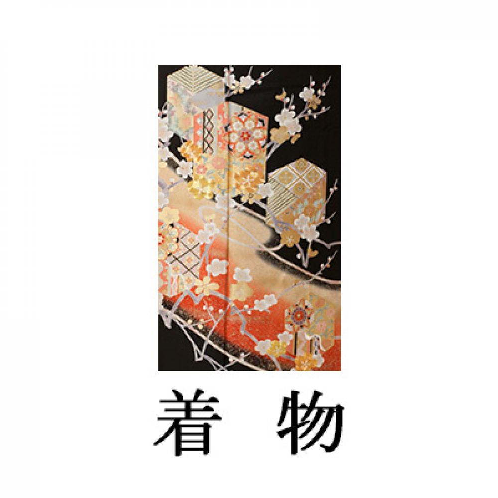 WEB留袖【5034 梅に花文様】