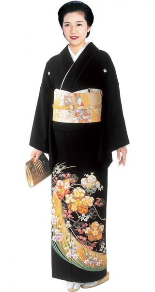 【全国往復送料無料】 留袖フルセットレンタル 普通巾【002-202 変り桜に水仙】