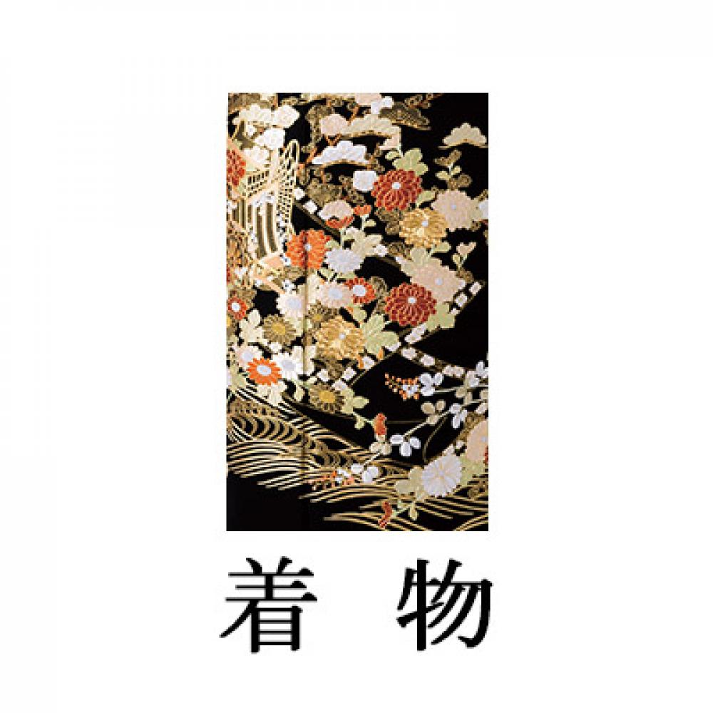 WEB留袖【002-265 総刺繍 春秋御所車】