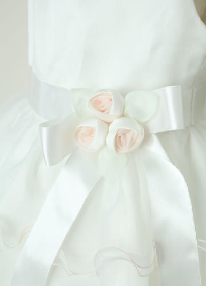 【全国往復送料無料】 ジュニアドレスレンタル 【ホワイトキャンディ】100~120cm