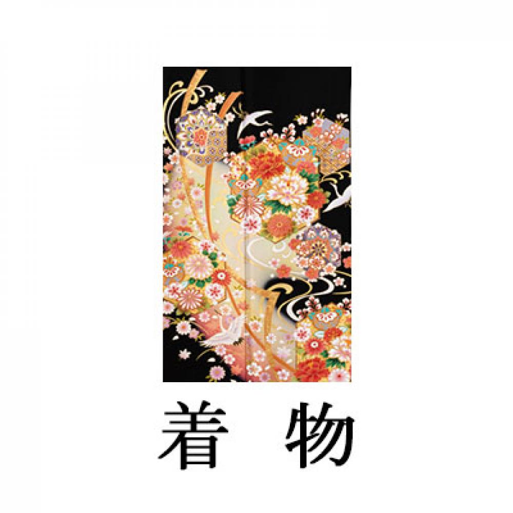 WEB留袖【6297 京友禅 亀甲彩花に小熨斗】