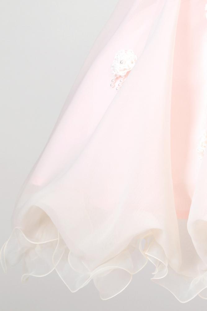 【全国往復送料無料】 ジュニアドレスレンタル 【ノエル(PI)】100~120cm