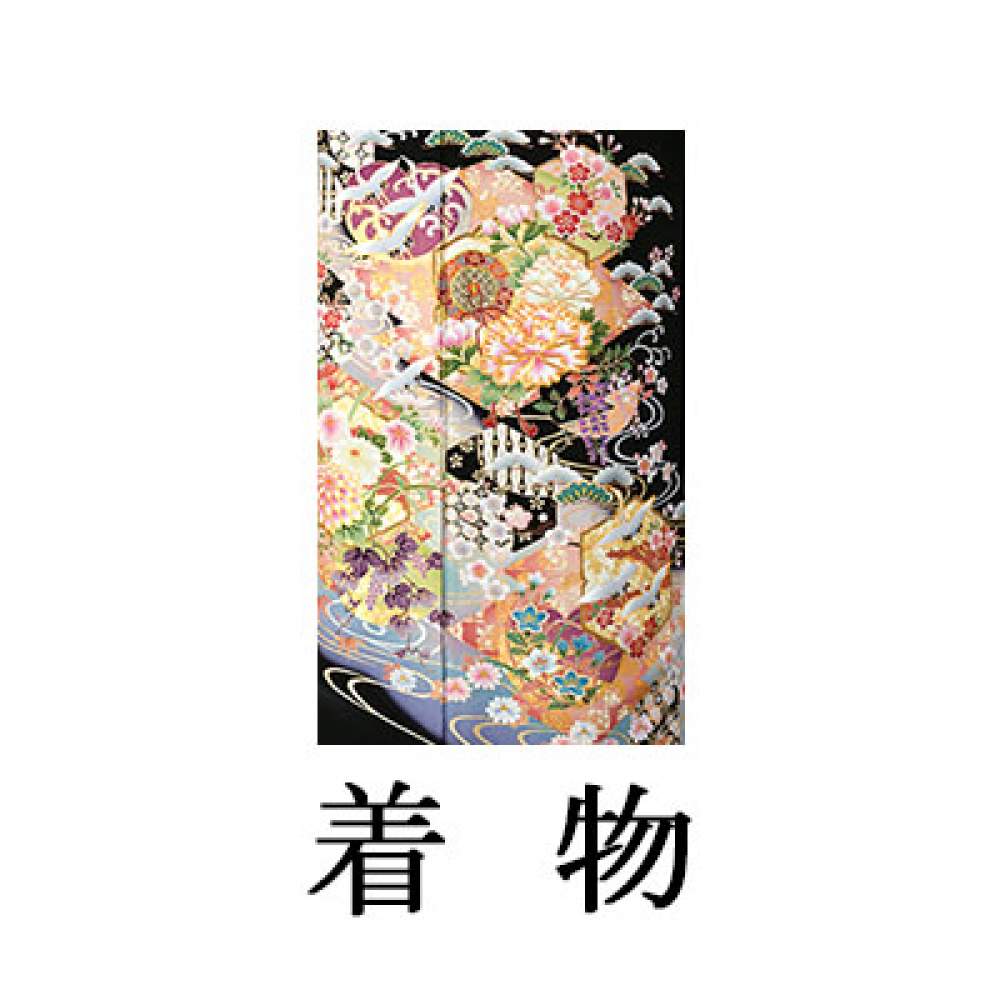 WEB留袖【6282 京友禅 流水松皮菱小花尽くし】