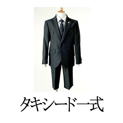 WEBジュニアタキシード【11ストライプ薄グレー】
